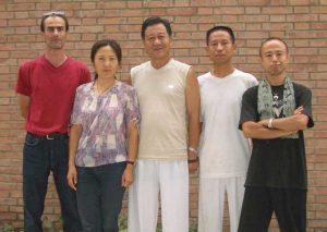 Zheng Xu Dong Shen Zhen Jun Pierre- Club et cours de Tai Chi Chuan à Lyon (Taichi style Chen)