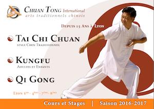 Cours Tai Chi Lyon Kungfu - Informations 2016-2017 - Tai Chi style Chen