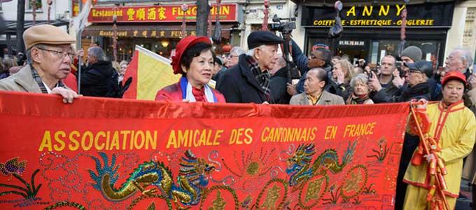 La Diaspora Chinoise en France - Tai Chi Kungfu Lyon