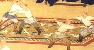 Wushu Kungfu Arts Martiaux Chinois - Lutte Mongole