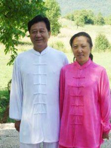 Découverte du Tai Chi Chuan Tuishou Maitre Zheng Xu Dong Shen Zhen Jun