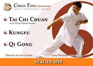 Stage avec Maître Zheng - Tai Chi Chuan Tuishou Maitre Shen Zhen Jun Information PDF