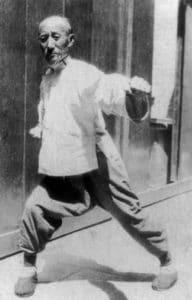Kungfu style Baiji Quan Stage Lyon Maitre Li Gui Zhang