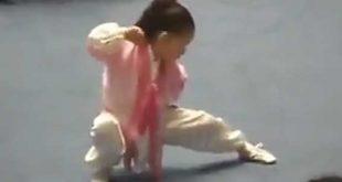 Jeune-Fille-Chinoise-taichi-style-chen-competition-Chine-Taiji-Lyon-Zhang-Yu-Ting