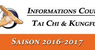 Informations-Cours-Tai-Chi-Kungfu-Lyon-Saison-2016-2017