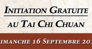 Tai Chi Lyon Cours Initiation 16 Septembre 2018 Taijiquan style Chen