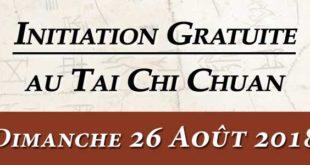 Taichi Lyon Cours Initiation Aout 2018 Taijiquan Lyon