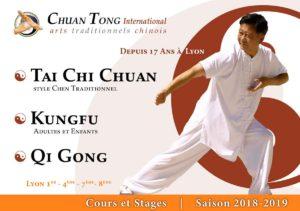 Tai Chi Lyon Kungfu Wushu enfants Saison 2018-2019