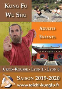 Kung-Fu Lyon Wushu Enfants Adultes Kungfu 2019 2020